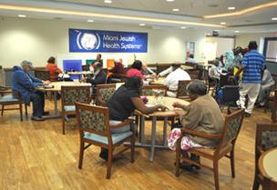 Miami Jewish Health Systems offers nursing home, assisted living, rehabilitation, home health care and hospice services.