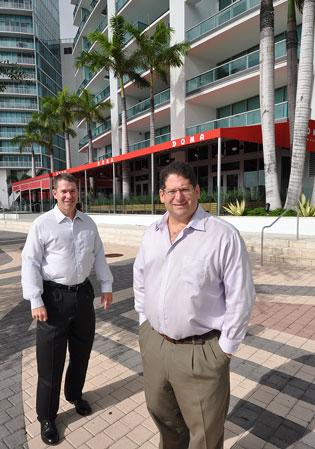 Robert White and Paul Kaplan of KW Property Management & Consulting help clients improve efficiencies to save money.