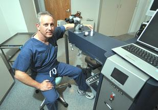 Dr. Cory M. Lessner has created a digital patient management and electronic records application for some 15,000 charts.