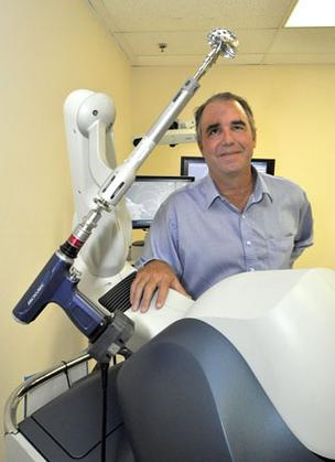 Mako Surgical Corp. CEO Dr. Maurice Ferre expects the RIO device to help the company grow profits.