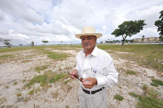 Fred Joseph brokered the sale of the 4.5-acre vacant lot on West Drive in North Bay Village.