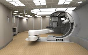 Mevion's proton therapy device at  Washington University School of Medicine in St. Louis.