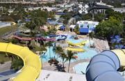 The 30-acre Rapids Water Park in West Palm Beach, with water slides, a 25,000-square-foot wave pool and children's play areas, is South Florida's largest water park.