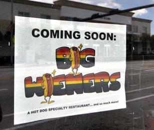Francine Sweet, owner of the Hot Stuff Grill in Plantation,  will soon open Big Wieners in Wilton Manors.