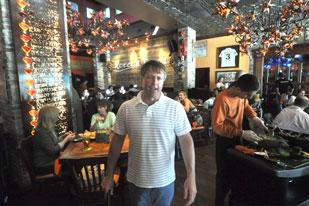 Todd Herbst is one of the Big Time Restaurant Group principals behind Rocco's Tacos.