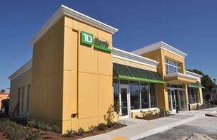 TD Bank plans a new branch in the Falls areas of Miami-Dade County.