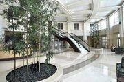 The lobby of the $210 million facility.