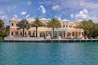 Villa Magnolia, at 182 Bal Bay Drive in Bal Harbour, has a $29.5 million asking price.