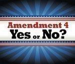 Rallying against Amendment 4
