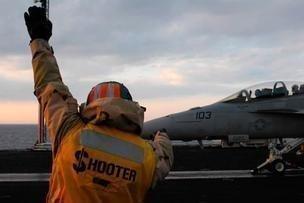An F/A-18 Super Hornet