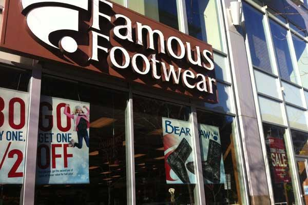 Brown Shoe's Famous Footwear brand delivered record second-quarter sales and operating profit.