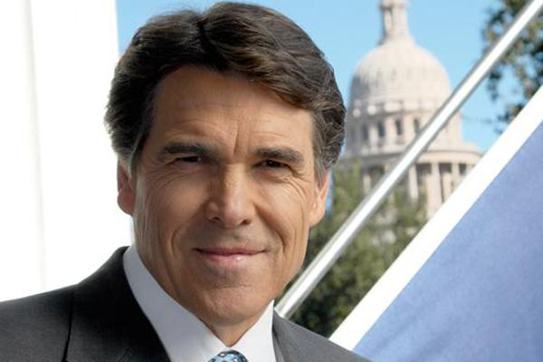 Texas Gov. Rick Perry says a key credit-ratings agency has raised the state's rating to 'AAA.'