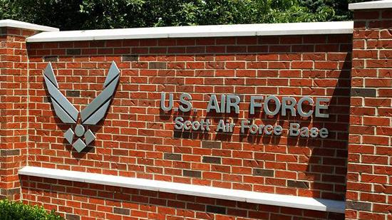 Furloughs delayed at Scott Air Force Base.