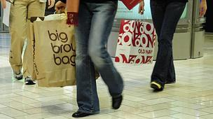 Retail sales were only up modestly for start of the holiday shopping season.