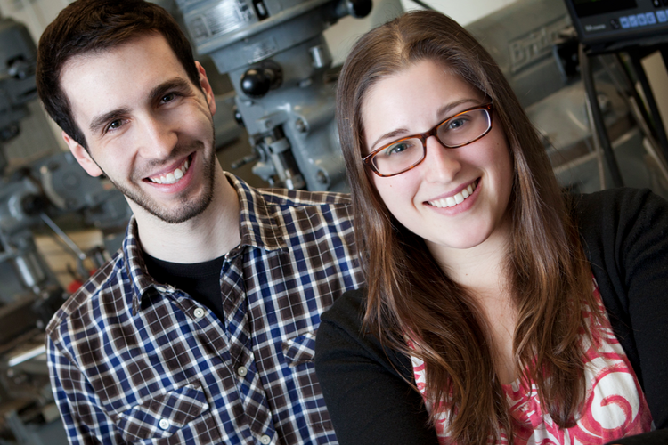 Sparo Labs co-founders Andrew Brimer and Abigail Cohen