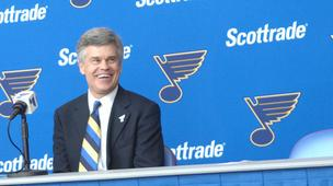 Blues owner Tom Stillman