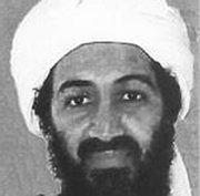 The now late Osama bin Laden