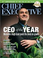 Monsanto's Grant named CEO of the year