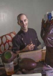 This week's St. Louis Character Rick Jordan, a self-described Disney dork, is working his magic at his chocolate boutique, Rick Jordan Chocolatier in Chesterfield.