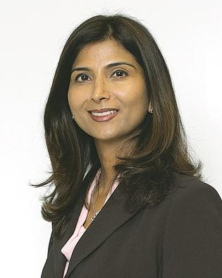 Sue Bhatia, CEO of Rose International, which ranked first on the list, with 2011 companywide revenue of $360 million.