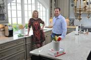 Jenny and Todd Rausch, owners of Karr Bick Kitchen and Bath, recently designed this Kirkwood kitchen. Their company is slated to be featured in upcoming Better Homes and Gardens publications.