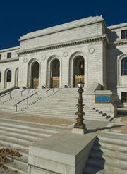 The Central Library is part of the St. Louis Public Library, which has 17 locations throughout the city and serves more than 2.3 million visitors each year.