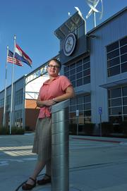 The U.S. Green Building Council's Emily Andrews says the new Sheet Metal Workers Local 36 Training Center is a great setting for local LEED education. The training center is seeking Platinum certification.