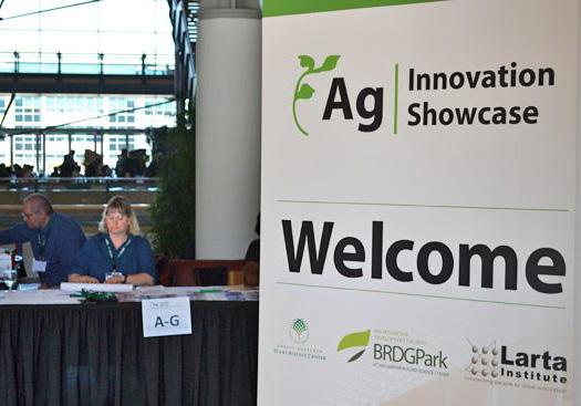 The fourth annual Ag Innovation Showcase wrapped up Wednesday at the Donald Danforth Plant Science Center, where 22 innovative bioscience startups pitched their companies to investors over two days.