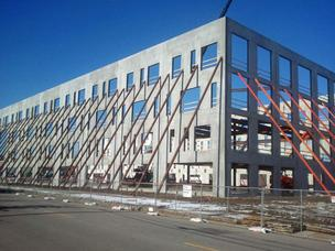 The new BJC Healthcare building on Clayton and Boyle avenues in the CORTEX district is quickly taking shape.