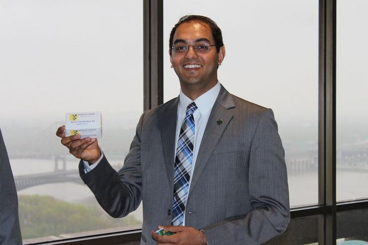 Mohit Patel of Genetix Fusion, one of the 20 winners of $50,000 Arch Grants.