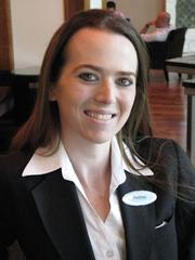 Andrea Bruemmer, concierge at the Hyatt Regency St. Louis at the Arch