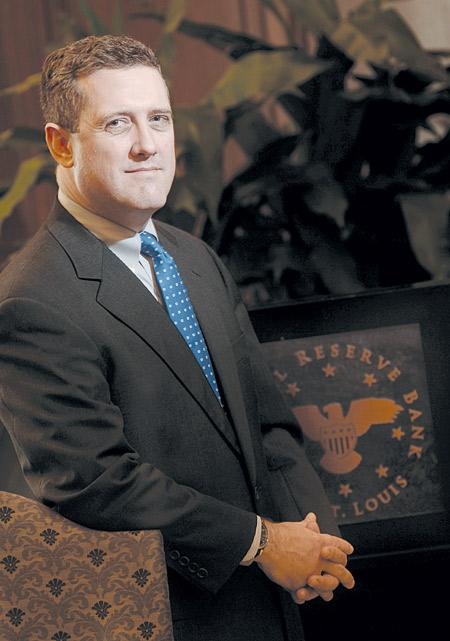 James Bullard, president and chief executive officer of the Federal Reserve Bank of St. Louis