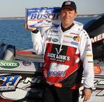 Busch goes major league with fishing