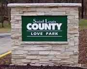 The Love family donated land to St. Louis County in 1959 to create Love park. The 2,239-acre park includes a portion of Grand Glaze Creek, which flows into the Meramec River.