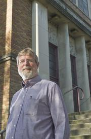 Steve Campbell is executive director of Peter & Paul Community Services, which plans to make the former Garfield Elementary  School near Benton Park its new home.
