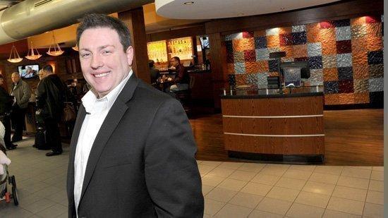 Gregg Doyle at the Mosaic location at Lambert-St. Louis International airport.