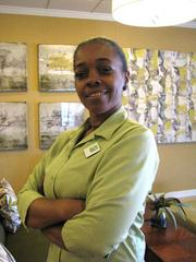 Lydia Ivory, assistant housekeeping supervisor at the Holiday Inn St. Louis Forest Park