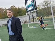 Jim Kavanaugh, soccer Olympian and now CEO of World Wide Technology, hopes to score $1 million in fundraising for the St. Louis Scott Gallagher Soccer Park in Fenton.