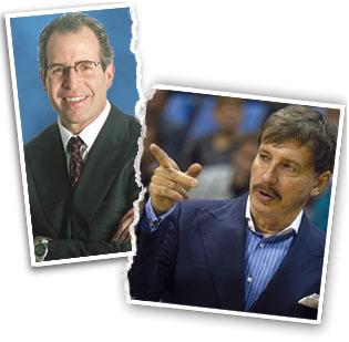 Michael Staenberg, left, is being sued by his former business partner, Stan Kroenke, right.