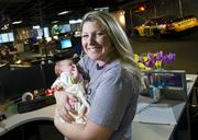 CrowdSource CEO Stephanie Leffler's latest launch is one-week-old Baby Emma.