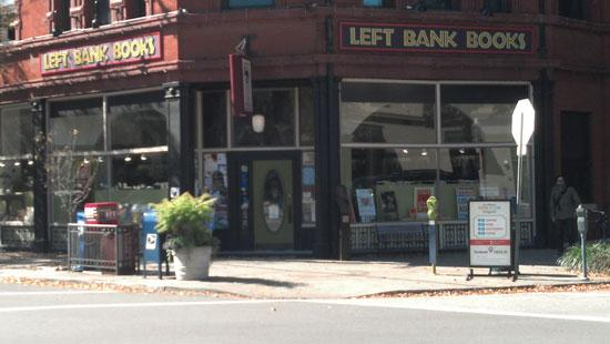 Left Bank Books, 399 N. Euclid Ave.