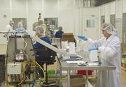 Workers on the production line at Legacy Pharmaceutical