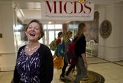 Lisa Lyle, MICDS Head of School, is all smiles now that the board of trustees has given its OK to begin construction of a $40 million science, technology, engineering and math secondary education facility at the school's Creve Coeur campus.