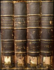 Lord Brougham's speeches are some of the first books collected for the Mercantile Library