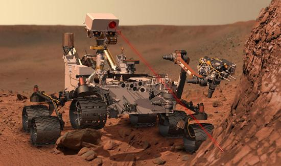 NASA's $2.5 billion Mars Science Laboratory (MSL) Curiosity has landed on Mars and will determine if conditions are favorable for life.