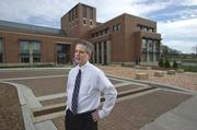 Mackey Mitchell Architects' Eric Neuner was the project manager on Webster University's new $29 million East Academic Building, which is designed to last at least 100 years and deliver some $35,000 in annual energy savings.