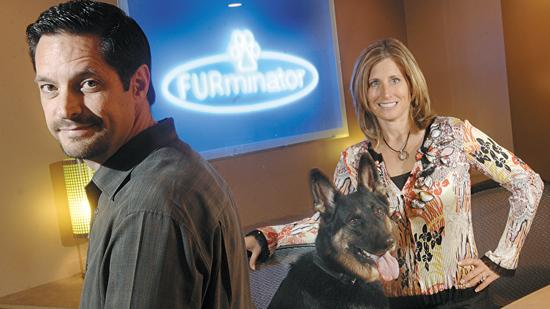 David and Angie Porter, who launched FURminator in 2003, retained a minority stake when the company was sold to a private equity firm in 2008. They now stand to make millions from the company's sale last month to Spectrum Brands.