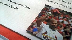 Albert Pujols took out a full page ad to say good bye and thank you to St. Louis and Cardinals fans.