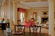 The Ritz-Carlton St. Louis suitePrice: $2,000 a nightThe suite features a five-room layout with a king-size bed, separate his and hers baths with whirlpool and sauna, formal dining room, full kitchen, fireplace, Steinway piano and an exclusive concierge floor.