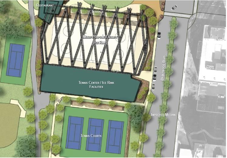 Clayton is considering placing a $12.6 million bond proposal on the ballot that would be used to make over part of Shaw Park.